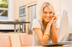 smiling homeowner